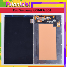 цена на ORIGINAL LCD For Samsung Galaxy CORE PRIME VE G360 G361 G361F LCD Display Screen SM G360 Display Screen LCD SM-G360H/DS G360H