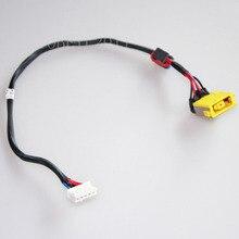 NOUVEL ORDINATEUR PORTABLE DC POWER JACK faisceau DE CÂBLES PLUG SOCKET DC jack câble fil port connecteur pour lenovo g400 g500 g505 g510