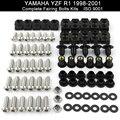 Для YAMAHA YZFR1 YZF R1 1998 1999 2000 2001 1998-2001 мотоцикл Полный Комплект болтов обтекателя из нержавеющей стали