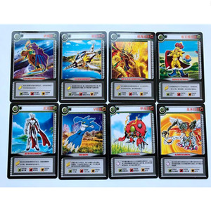 Image 5 - 36 pcs/lot Cartoon Collection Cards Digimon Adventure Digital Agumon War Greymon Action Figures Evolution Trading Cards Kid Toy