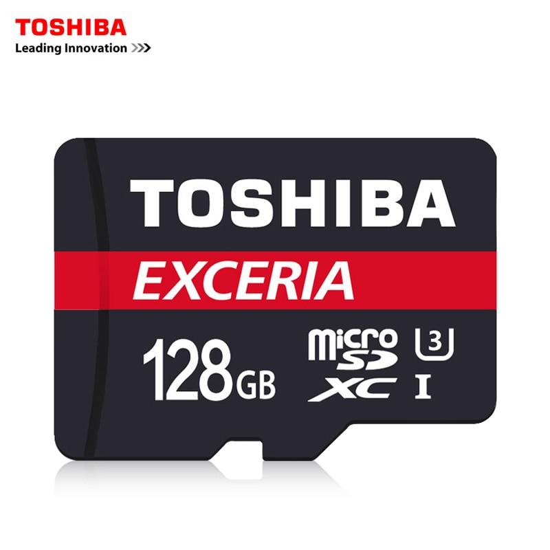 TOSHIBA U3 Memory Card 128GB 64GB SDXC Max UP 90M/s Micro SD Card SDHC-I 32GB 16G Class10 Official Verification 8G is Class4