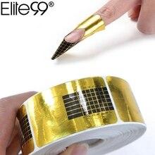 Elite99 100pcs/set Nail Art Extension Sticker Guide Form Acrylic Professional