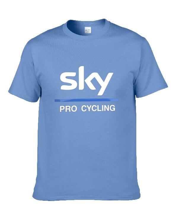 Wholesale T Shirt team sky sky team Men and Women Casual T-Shirt Tops Shirt fast shipping