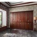 Новинка индивидуальные уникальный стене спальни шкаф дизайн YG31439