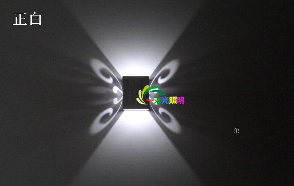 parede 1x3 W parede conduziu a luz