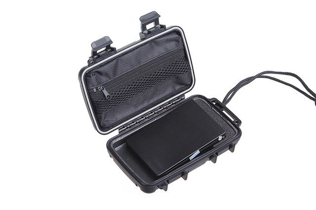 """Quân sự Chống Thấm Nước, chống bụi, chống áp lực Mang trường hợp Đối Với 2.5 """"Hard Drive Đĩa HDD lưu trữ kỹ thuật số Bảo Vệ túi Điện Thoại"""