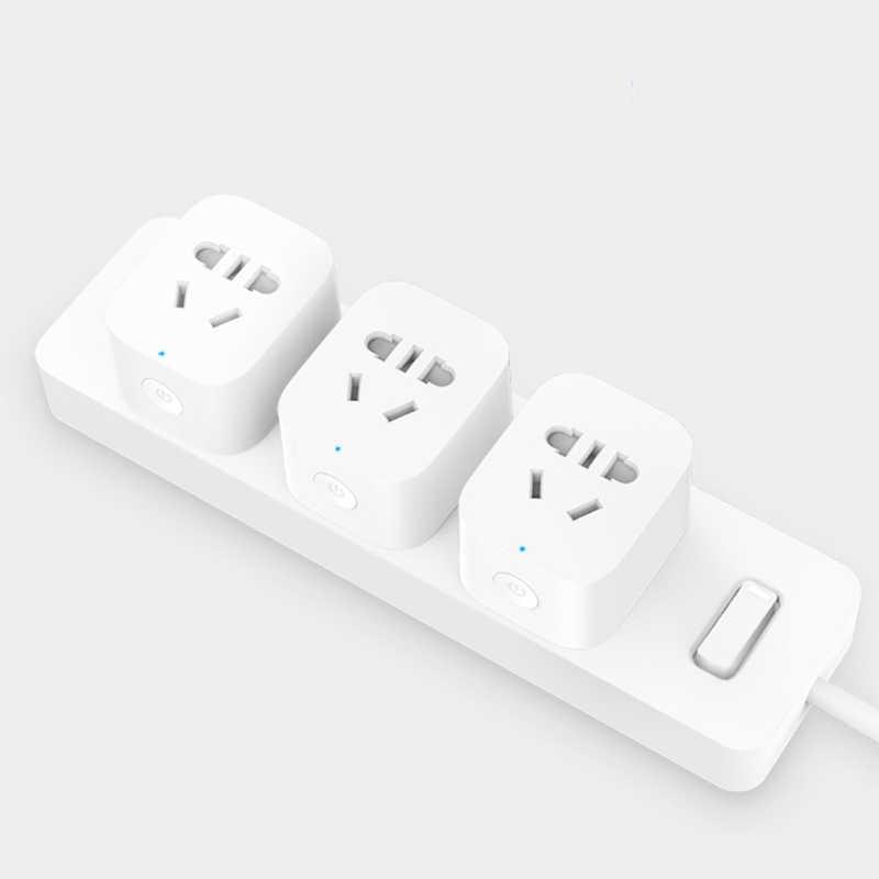 Оригинальная новейшая умная розетка Xiaomi, основное гнездо, Вилка питания, Wi-Fi версия, розетка, ЕС, управление с телефоном, приложение itellligent, вилка