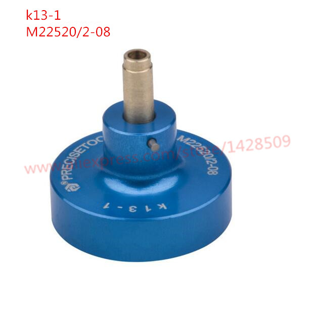higher Quality locator K13-1 Postioner for Wire Terminal Crimper Cable Crimping Tool M22520/2-08 0.032-0.5 mm2 акустические кабели silent wire ls 1 сечение 2 x 1 5 mm2 100m