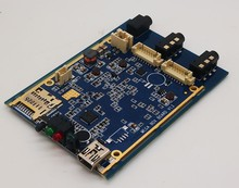 OEM 1CH Mini AHD XBOX DVR Platine 30fps Sicherheit Digital Video Recorder Unterstützung 128 GB Sd-karte