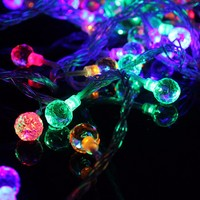 Mising Waterproof 10M 100 LED String Light Crystal Balls Fairy String Light Party Christmas Decoration Outdoor