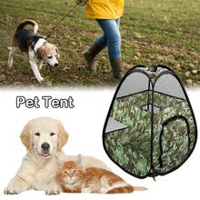 Outdoor Dog Tent Nest Foldable Storage Breathable Mesh Cat Pet One-piece Two-way Zipper And Universal