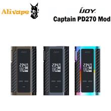 Ijoy капитан PD270 234 Вт OLED экран коробка мод Питание от двух 20700 батарей