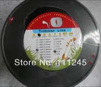 SQURE GRASS TRIMMER LINE DIAMETER 2 65MM 0 105 3LB 200M ROLL SPOOL PACKAGE COMMERCIAL QUALITY