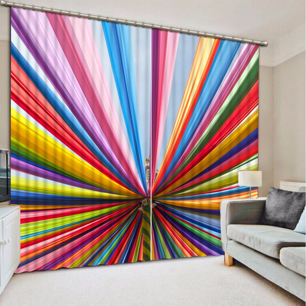 Beautiful 3D Sheer Curtains Modern Bedroom Living Room Curtains Textile Colorful Window Blackout Curtains Beautiful 3D Sheer Curtains Modern Bedroom Living Room Curtains Textile Colorful Window Blackout Curtains