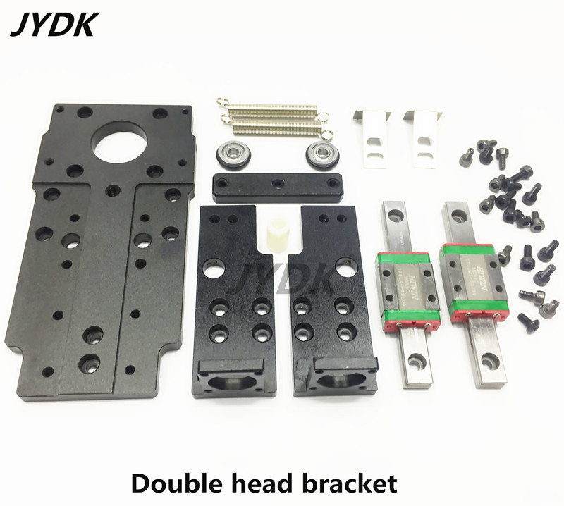 SMT DIY mountor hollow shaft stepper for pick place head Double head bracket