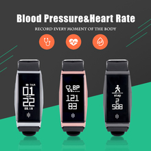 HAOBA Smart Watch Blood Pressure/Heart Rate Fitness Tracker Smart Wristband Smartwatch for Android IOS Smart Bracelet Band Sport