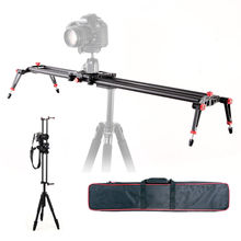 "80 cm 32 ""SLR Kamera Dolly Slider Video Sabitleyici Karbon Fiber Raylı Sistemi"