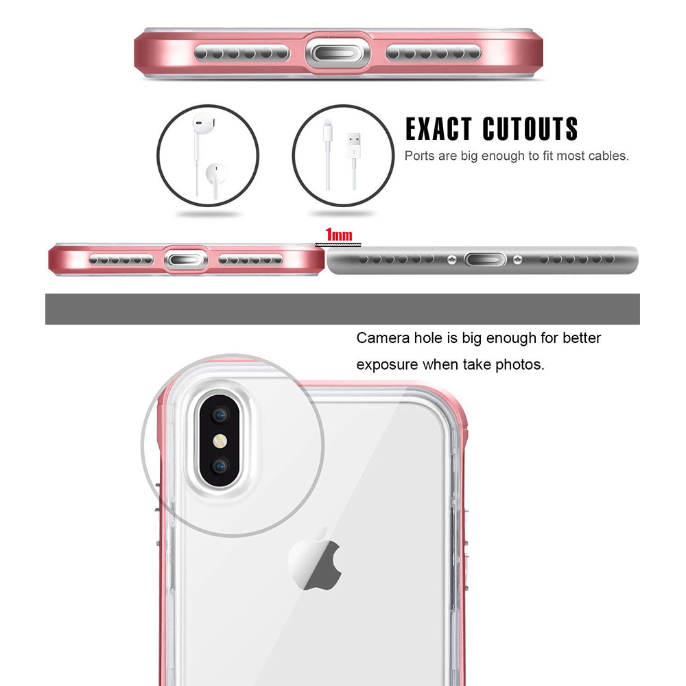 Hsmeilleur-For-iPhone-7-Case-Dual-Layer-Soft-Clear-TPU-Back-Cover-PC-Bumper-Frame-For-iPhone-XS-MAX-XR-X-8-7-6-6s-plus-5s-Coque (14)