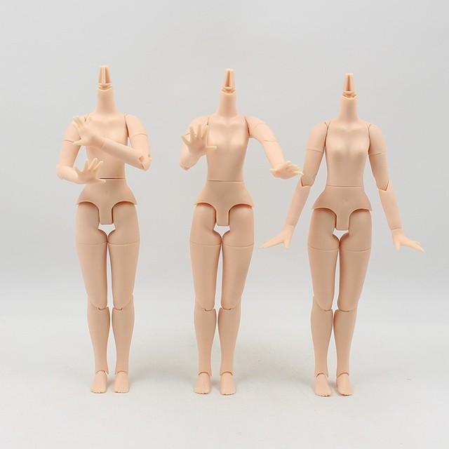 Neo Blythe Doll Body BJD DIY Multi-Angle Neck Factory Body Hand Set Option