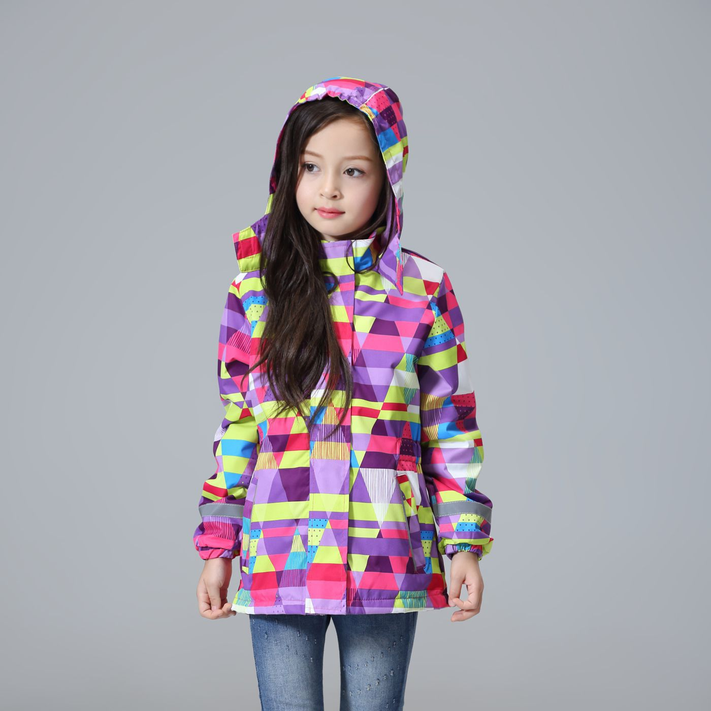 Waterproof Windproof Children Outerwear Baby Girls Jackets ...