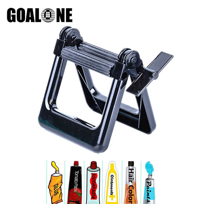 GOALONE Plastic Toothpaste Tube Squeezer Tooth Paste Dispenser Tube Wringer for Artist Hair Salon Painter Kitchen Home Gadgets