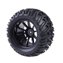 Wheel Rim & Tires For HSP 1:10 RC Monster Truck with 12mm Hub