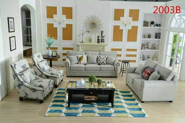 Nieuwste meubelen europese amerikaanse stijl moderne stof bank