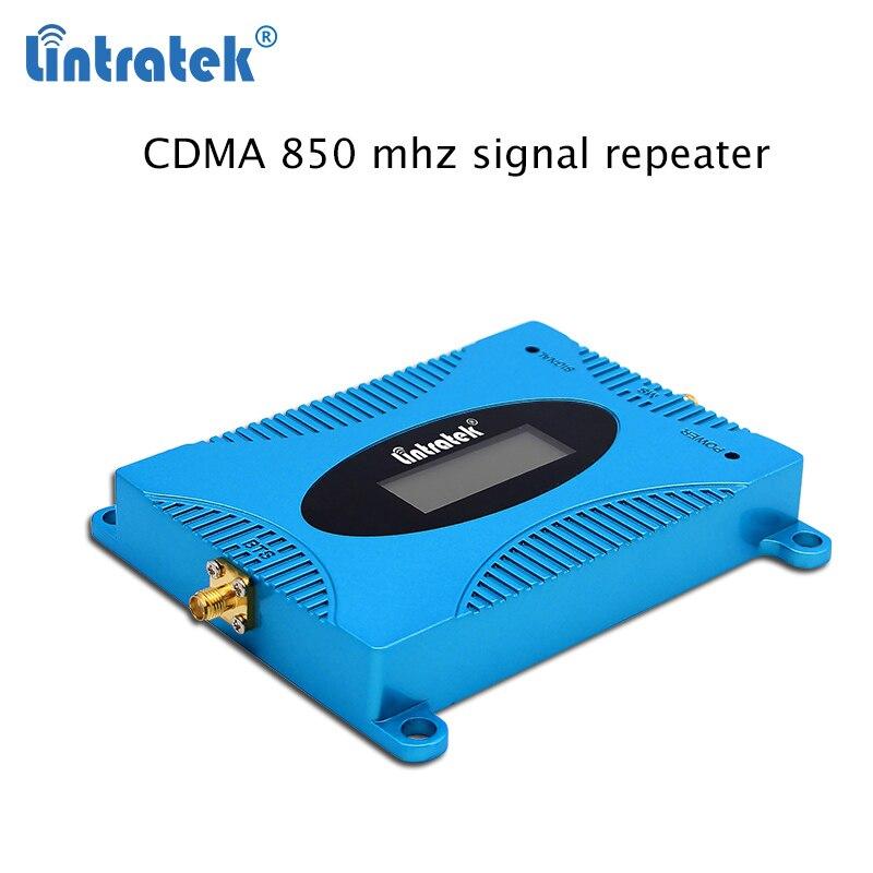 Amplificateur de Signal celulaire lintratek 850 mhz mini 2G/3G kit de répéteur bande 5 répétidor CDMA amplificateur de Signal de téléphone portable 850 mhz S45 - 2