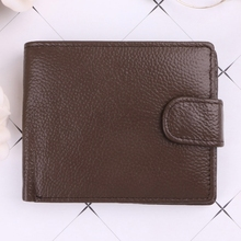 THINKTHENDO Men Business Bifold Credit ID Card Holder Change Wallet Billfold Coin Purse цены