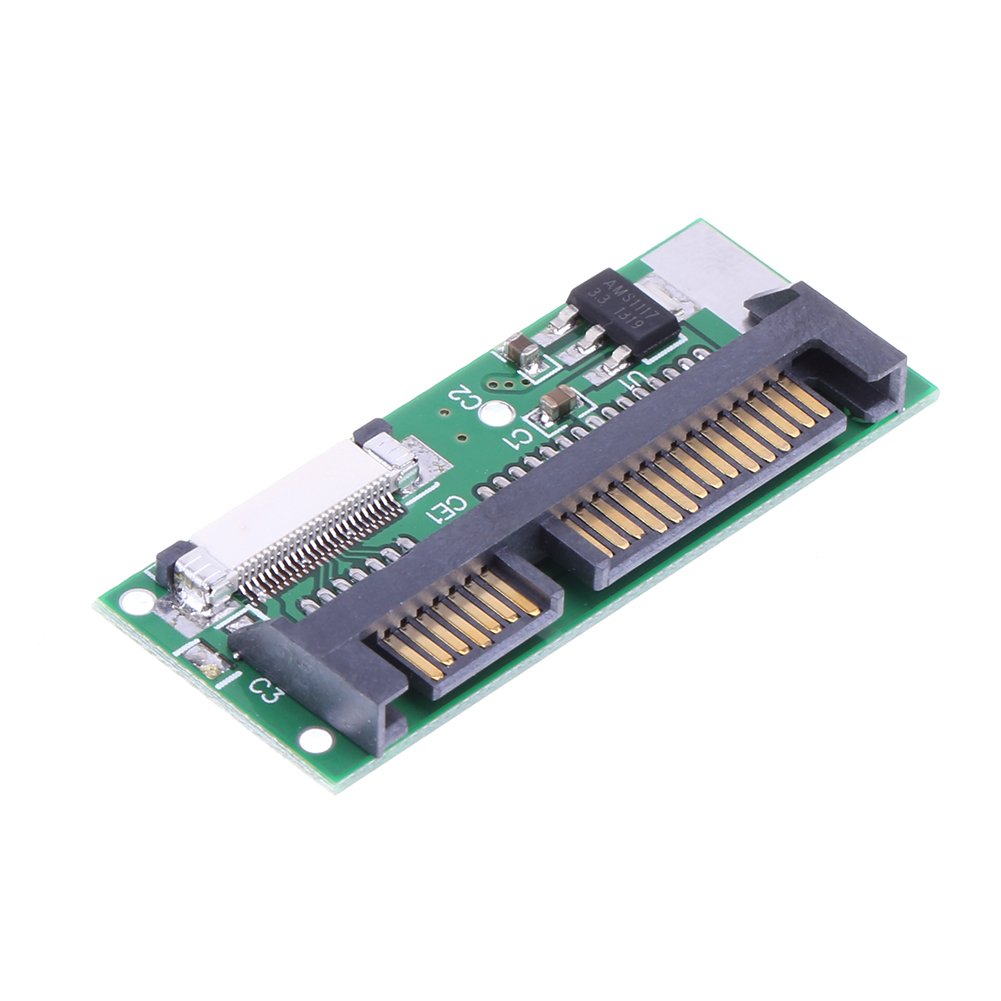 24 Pin ZIF To 22 Pin SATA Converter Adapter Card 1.8inch LIF To 2.5inch SATA  24 PIN SATA LIF Connector PCB Adapter For Mac
