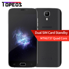 Original DOOGEE MTK6737 X9 PRO Smartphone de 5.5 pulgadas HD Quad Core Android 6.0 4G LTE 2 GB RAM 16 GB ROM 1280*720 3000 mAh huella digital