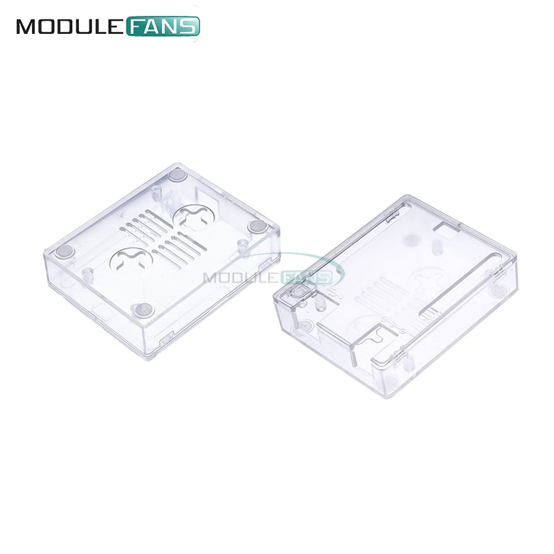 Transparent ABS Plastic Case Shell Clear Protective Box