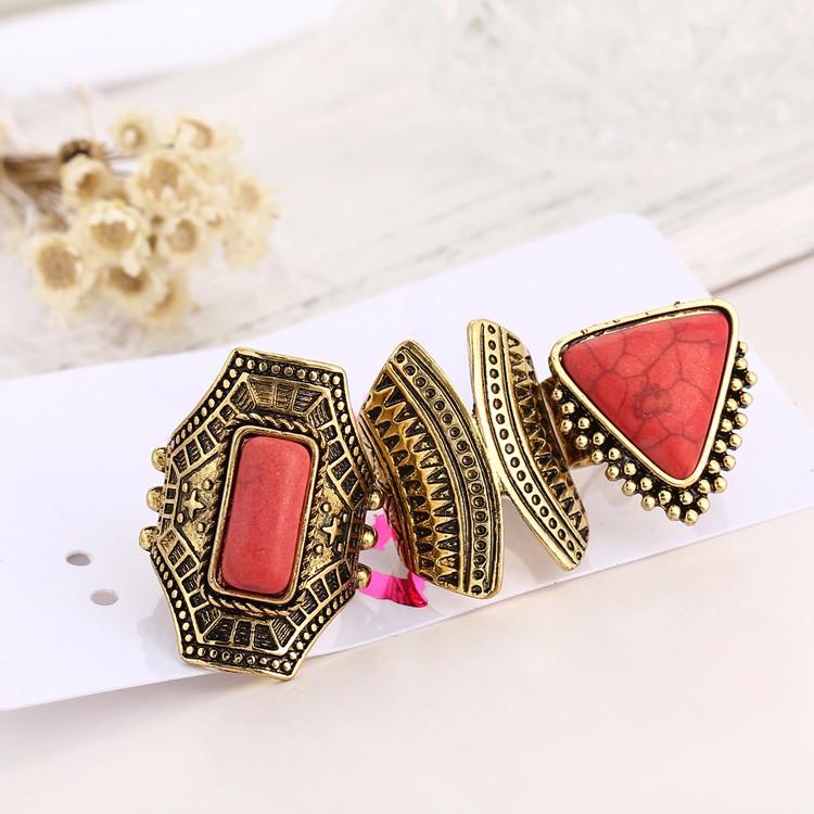 HTB1KrLoMVXXXXabXpXXq6xXFXXXH Boho Style 3-Pieces Vintage Punk Knuckle Ring Set For Women - 2 Colors