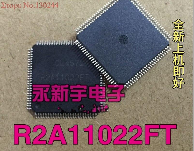 1pcs/lot R2A11022FT R2A11022  TQFP-1001pcs/lot R2A11022FT R2A11022  TQFP-100