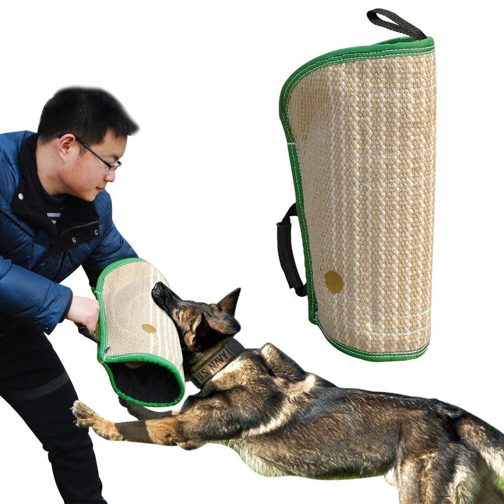 Morso di cane Maniche Manica Del Braccio di Protezione Per La Formazione di Giovani Cani Malinois Lavoro Rimorchiatori Cane in Forma Pitbull Pastore Tedesco