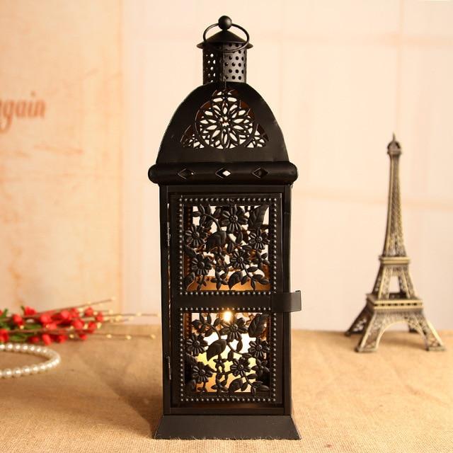 ty candelabros jaula adornos decoracin del hogar linterna vela decoracin de la boda candelabros de velas