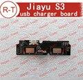 Jiayu S3 Repalcement Bordo Carga USB Com Mic Microfone Para Jiayu S3 + Inteligente telefone Celular Frete Grátis 100% Original