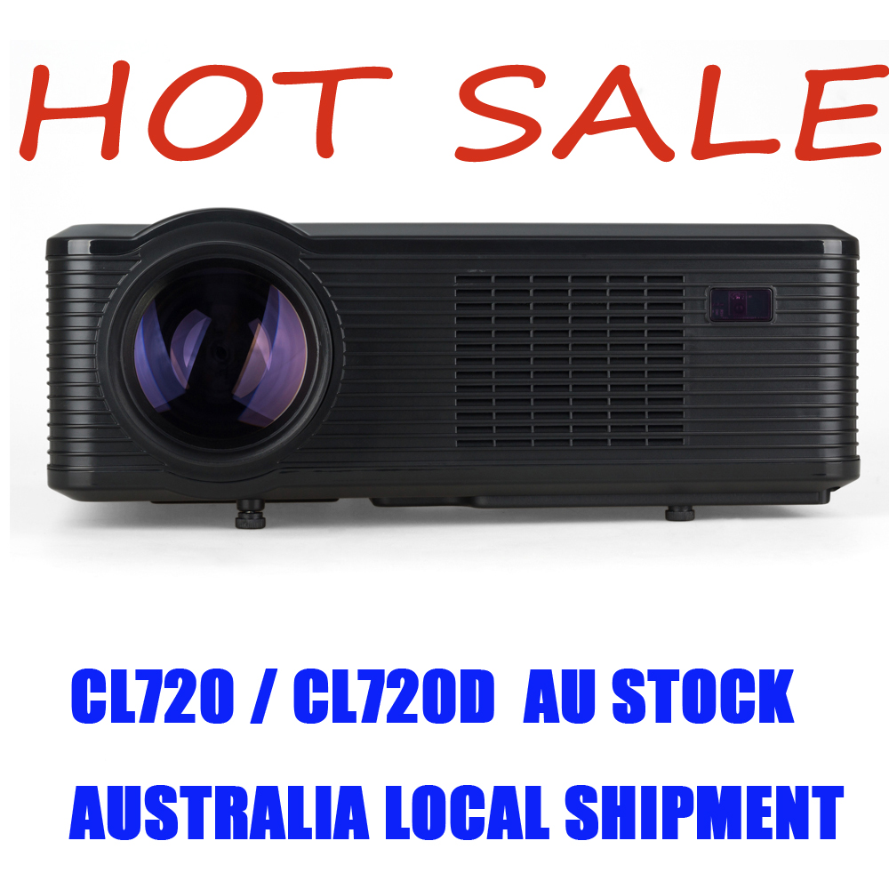 Original Cl720 Led Projector 3000 Lumens 1280 X 800: HOT CHEERLUX CL720 HD Projector 3000 Lumens HD Home