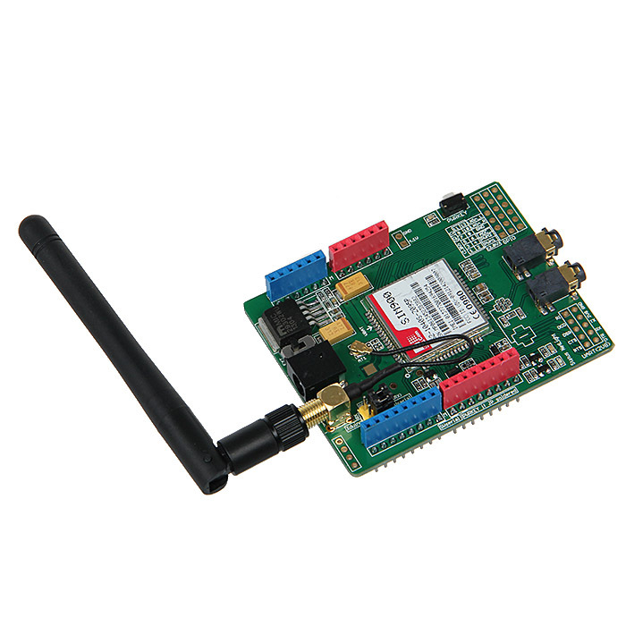 Updated SIMCOM SIM900 Module Quad Band Wireless GSM/GPRS Shield Development Board For Arduino Free Shipping!
