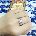 Top quality love ring his and hers promise ring engagement ring  mens rings Wedding accessories jewelry free shipping