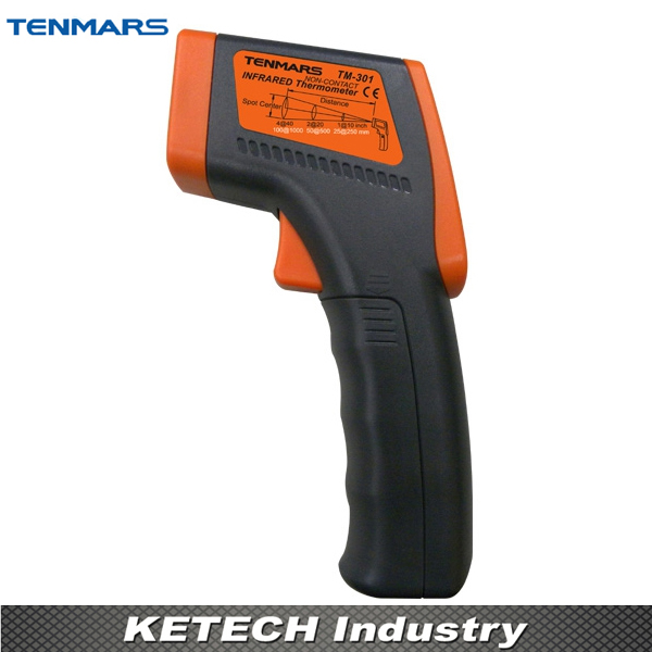 TENMARS TM301 Industrial IR Infrared Thermometer