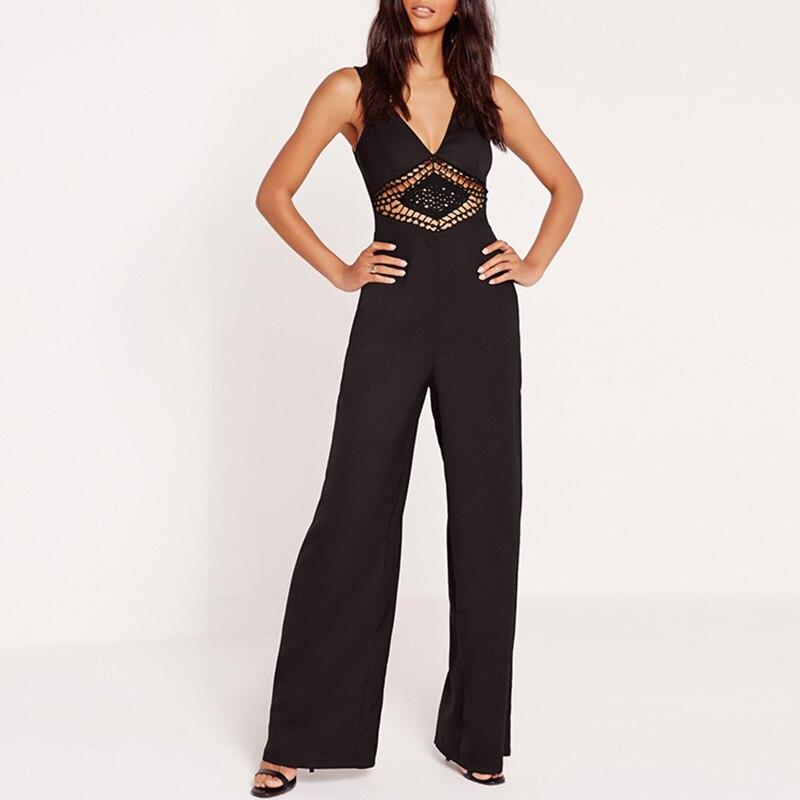 Aliexpress.com  Buy S XXL 2017 Sexy Plus Size Wide Leg ...