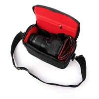 Wasserdichte Kamera Tasche Schulter Fall Für Sony Alpha A6500 A6300 A6000 A5100 A5000 NEX-7 NEX-6 NEX-5T NEX-5 HX400 HX300 Foto tasche