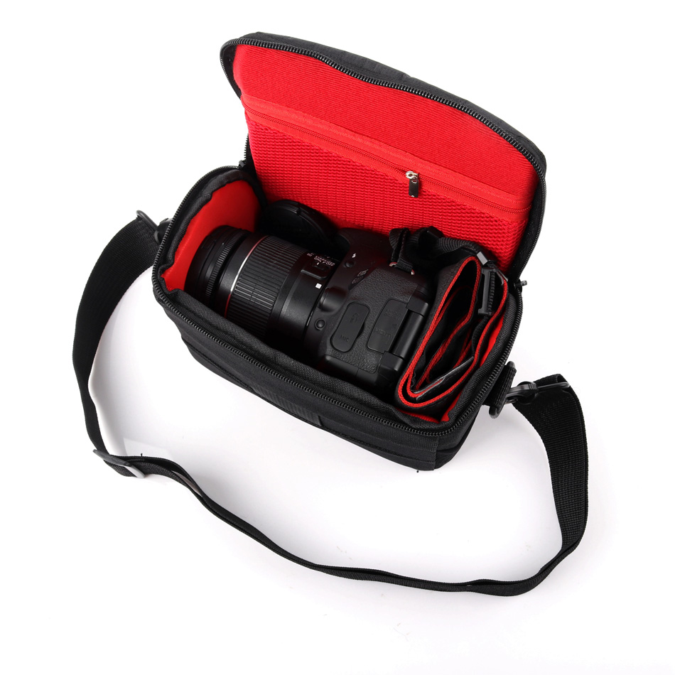 Waterproof Camera Bag Shoulder Case For <font><b>Sony</b></font> <font><b>Alpha</b></font> A6500 A6300 A6000 A5100 <font><b>A5000</b></font> NEX-7 NEX-6 NEX-5T NEX-5 HX400 HX300 Photo Bag image