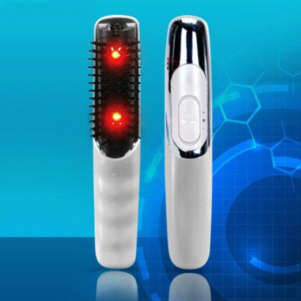 Laser Behandlung Kamm für Haar Wachstum Stop Haarausfall Fördert Neue Haar Wachstum Werkzeug Haarausfall Therapie Vibrator Kopf Massager