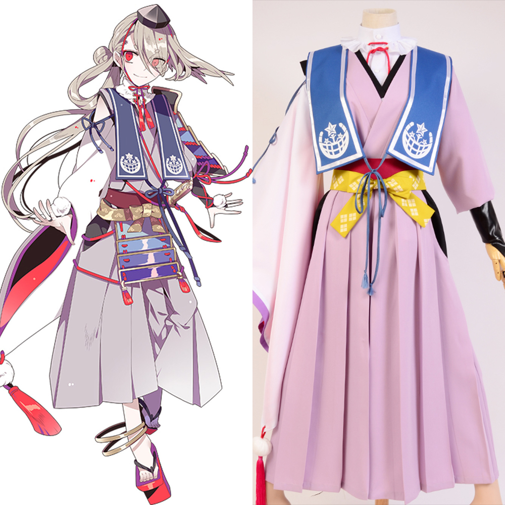 Touken Ranbu Cosplay Imanotsurugi Costume Full Sets Uniform Fashion Uniform Halloween Carnival costume
