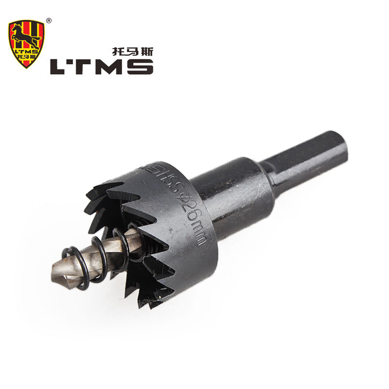 26mm High Speed Steel Drilling Opening Power Tool Wear Hole Hardware Hand Tools Opening Drill Bit Fitting Combination Tool Set