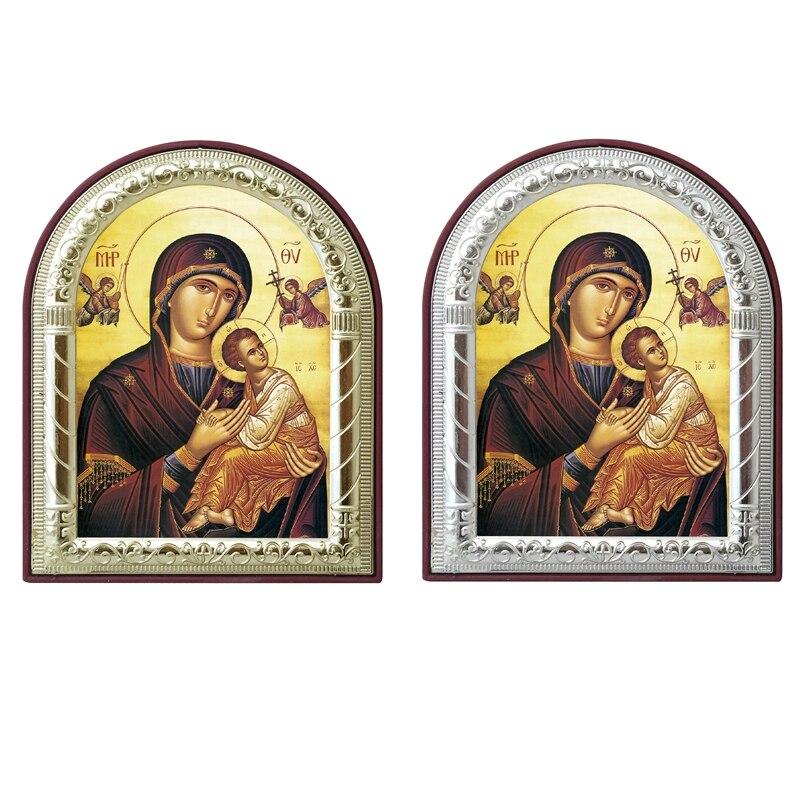 Ikona ortodokse greke e personalizueshme Virgin Mary Dhe imazhet e - Dekor në shtëpi - Foto 2