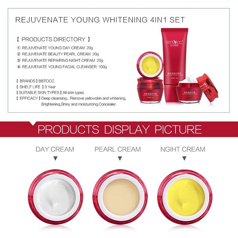 yiqi remover sarda anti rugas melanina salpicos empresa bbtocc 4in1 conjuntos
