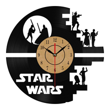 STAR WARS Theme Home Decor 3D Hanging Watches